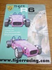 TIGER RACING, R6  KIT CAR SALES 'BROCHURE'/SHEET 1990's?