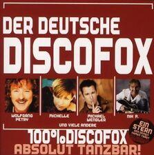 Deutsche Discofox Nik P., MIchael Wendler, Wolfgang Petry, Christian Fran.. [CD]