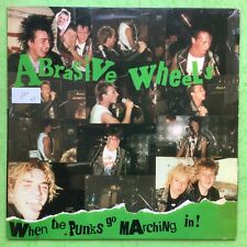 Abrasive Wheel - When The Punks Go Marching In! - Riot City CITY-001 Ex