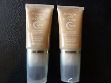 Revlon Age Defying SPA Foundation / Makeup - MEDIUM DEEP #007 - TWO New / Sealed