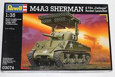Revell 03074 M4A3 Sherman & T34 CALLIOPE ROCKET LAUNCHER 1:35