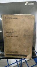 CATERPILLAR D9H TRACTOR  POWERSHIFT  PARTS MANUAL