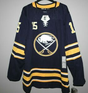 Authentic Buffalo Sabres #15 EICHEL Hockey Jersey New Mens 50 (M) $190