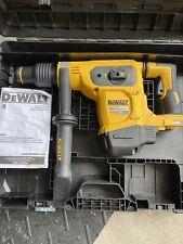 New listing Dewalt Dch481B 60V Brushless Cordless Rotary Hammer/Drill Tool - Black/Yellow