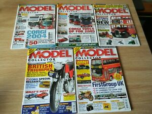 5 issue Model Collector Magazine Christmas special  2003/04/05 Jan Feb 06
