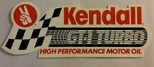 "KENDALL MOTOR OIL GT-1 RACING OIL 80s DECAL STICKER NEW 7"" x 2 11/16"