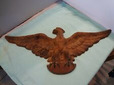 """New listing Vintage Cast Iron American Eagle wall Plaque - 21"""" Wing Span - Heavy"""
