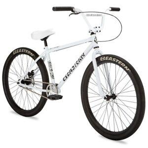 "Eastern 29"" BMX Growler Bicycle Bike 1 Piece Crank White NEW"