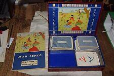 Mah Jongg con carte e libretto spiegazione Produzione Salca Bologna Vintage V3
