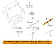Infiniti NISSAN OEM 14-16 QX50 Liftgate Tailgate-Finish Molding 908171BA0A