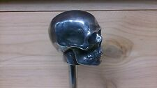 Harley Shift knob Skull aluminum handmade, hot rod, harley, custom bike,classic