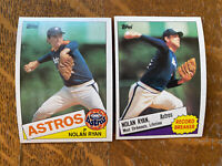 1985 HOUSTON ASTROS Topps COMPLETE Baseball Team Set 29 Cards RYAN CRUZ GARNER