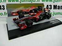 SEN30T voiture eaglemoss 1/43 F1 BRESIL Formule 1 VIRGIN VR-01 L. DI GRASSI 2010