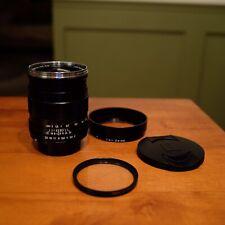 Carl Zeiss Distagon T* 35mm f2 ZS for Pentax M42, Clean Optics, B+W UV Filter