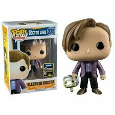 FUNKO POP VINYL ELEVENTH DOCTOR WITH CYBERMAN HEAD - 2015 CONVENTION EXCLUSIVE