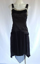 Stunning Sonia Rykiel Bustier Black Slip Dress   Aust10-12 EUC