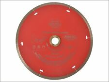 Faithfull - Diamond Tile Blade Red Continuous Rim 180mm x 22.2mm -