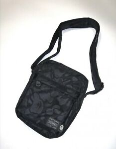 A BATHING APE and PORTER YOSHIDA unisex shoulder bag khaki