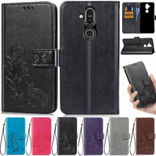 Flowers Wallet Leather Flip Case Cover For Nokia 7.2 6.2 4.2 3.2 2.2 6.1 7.1 8.1