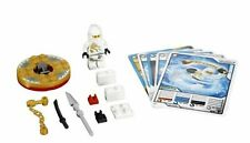 Lego 2171 Ninjago: The Golden Weapons: Spinners: Zane DX Minifig + 5 Game Cards