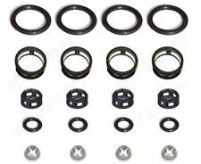 Side Feed Fuel Injector Repair Kit Filters Seals O-Rings Pintle Caps JECS (4)