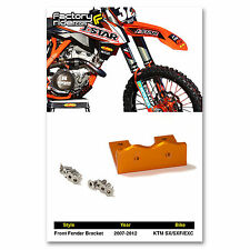 2007-2012 KTM SX/SXF/EXC 125/150/250/300/350/450 Dirt Bike Front Fender Bracket