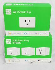 WeMo WSP080BD3 120V Smart Plug, White - 3 Pack
