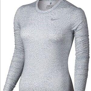 Nike Golf Women's Dri-Fit UV UPF 40+ Crew Long Sleeve Top Size XS