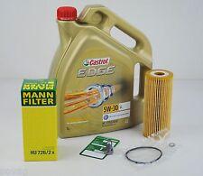 5L Castrol EDGE FST 5W-30 Longlife MANN Ölfilter VW PASSAT 3B 3BG 1.9 2.0 TDI