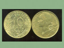 FRANCE  FRANCIA  10 centimes 1984 marianne
