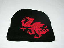 Cymru Patriot Bandiera del Galles Workwear Cappello DRAGO GALLESE Ricamato Baseball