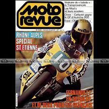 MOTO REVUE N°2508 HONDA CBX 1000 MODS SCOOTER VESPA GRAND PRIX BOL D'ARGENT 1981