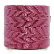 77 Yds. Super-Lon Cord #18 Wineberry Beading Crafting Stringing Crochet
