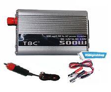 Inverter Trasformatore 500 Watt 12V 220V Per Auto Camper Campeggio Barca