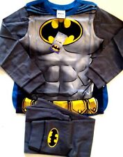 boys marvel heros official batman novelty with cape pyjamas