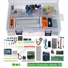 Para Arduino Starter Kit UNO R3 Mega 1602 LCD Servo Motor paso a paso Nano DIY