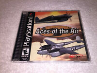 Aces of the Air (PlayStation 1, 2002) PS2 Black Label Game Complete Mint!