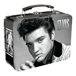 Elvis Presley Large Metal Lunch Box Tin NEW IN STOCK