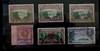 SOUTHERN RHODESIA 6 USED VALUES    G067     Free Shipping