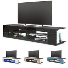 "Black High Gloss Modern TV Stand Unit Media Entertainment Center ""Movie"""