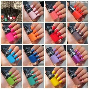 Maybelline Color Show 60 Seconds Nail Polish Varnish NEW - Multiple Colors