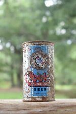 Vintage Cooks Indiana Flat Top Beer Can Man Cave Decor Beer Collectible 12 Oz.