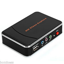 HD Video Capture High Definition 1080P HDMI YPBPR Recorder US for Game Lovers
