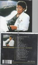 CD--MICHAEL JACKSON--GOLD AWARD: THRILLER | SPECIAL EDITION