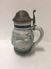 Avon Endangered Species: Sperm Whale Mini Beer Stein (1992) Handmade in Brazil