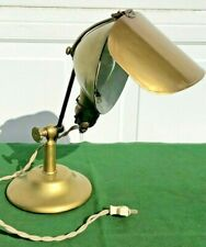 1910 Antique LYHNE Jewelers / Medical / Industrial Table Desk Lamp EXCELLENT!