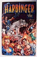 Harbinger: Acts of God #1 (Jan 1998, Acclaim / Valiant) Signed by James Perham
