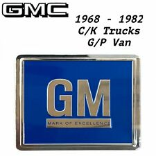 1968-1982 Door GM Decal BLUE 3M ALL GMC C/K Trucks Van Reproduction Jimmy Sierra