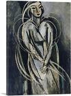 ARTCANVAS Portrait of Yvonne Landsberg 1914 Canvas Art Print by Henri Matisse