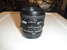 Nikon Nikkor 50mm1:1.8 with  C-mount Adapter.